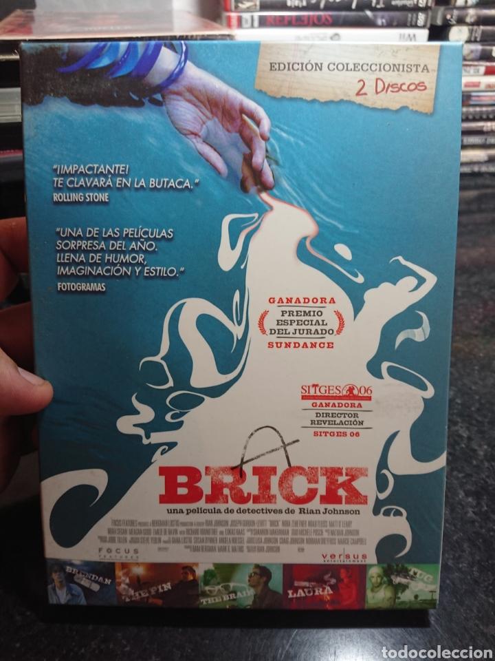 BRICK DVD EDICION COLECCIONISTA 2 DISCOS CON GUIÓN STORYBOARD Y NEGATIVO (Cine - Películas - DVD)
