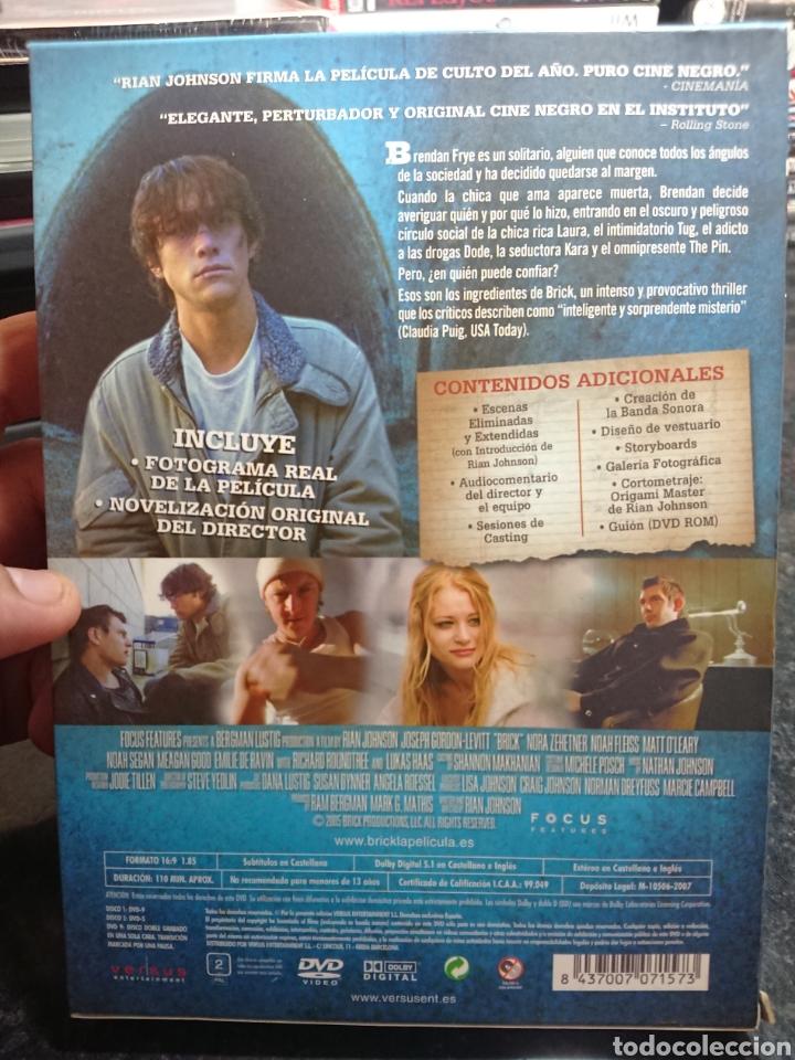 Cine: Brick DVD Edicion Coleccionista 2 Discos con Guión Storyboard y Negativo - Foto 2 - 166307514