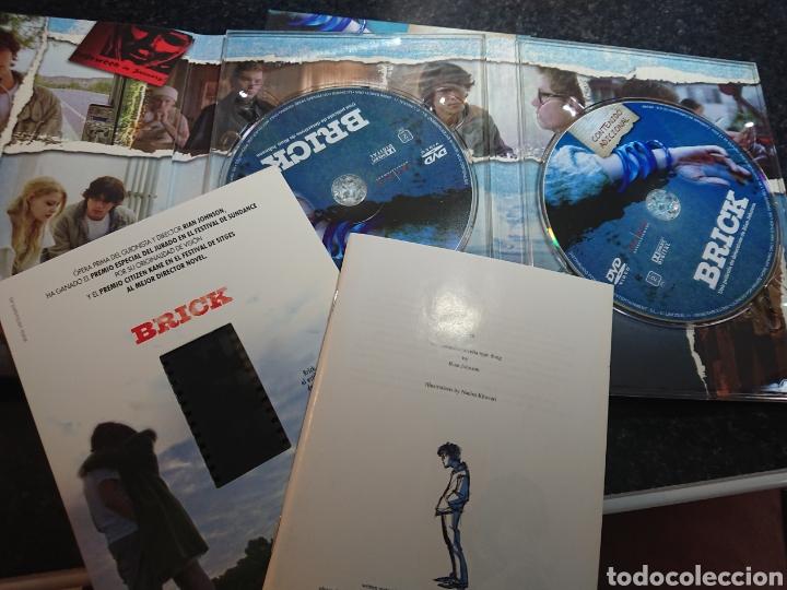 Cine: Brick DVD Edicion Coleccionista 2 Discos con Guión Storyboard y Negativo - Foto 3 - 166307514
