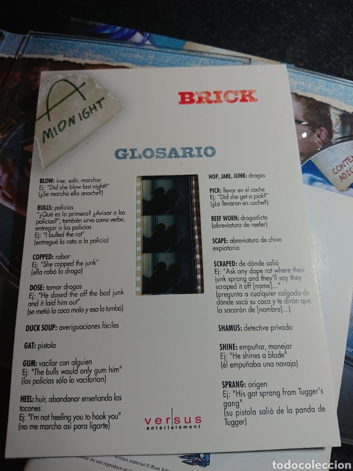 Cine: Brick DVD Edicion Coleccionista 2 Discos con Guión Storyboard y Negativo - Foto 4 - 166307514
