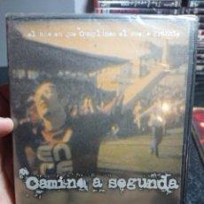 Cine: CAMINO A SEGUNDA, DVD ASCENSO PONTEVEDRA CF AÑO 2005 (75 MINUTOS). Lote 166308412