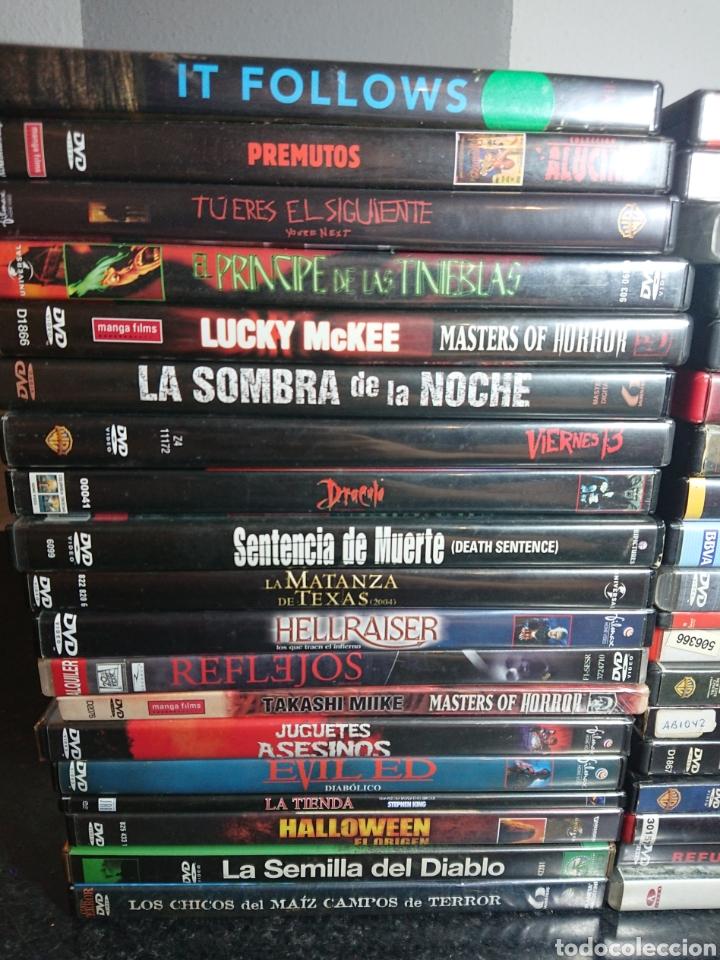 Cine: Lote N°1 de 38 Películas DVD de Terror (muchas de ellas descatalogadas) - Foto 2 - 166311717