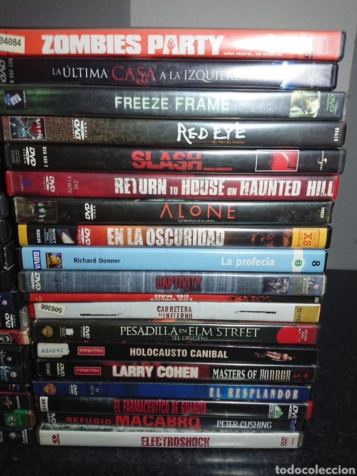 Cine: Lote N°1 de 38 Películas DVD de Terror (muchas de ellas descatalogadas) - Foto 3 - 166311717