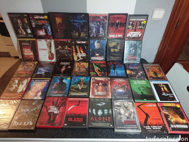 Cine: Lote N°1 de 38 Películas DVD de Terror (muchas de ellas descatalogadas) - Foto 4 - 166311717