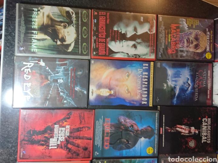 Cine: Lote N°1 de 38 Películas DVD de Terror (muchas de ellas descatalogadas) - Foto 5 - 166311717