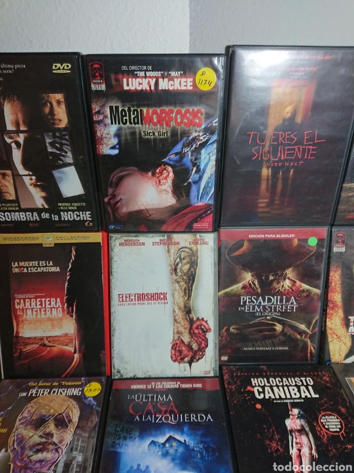 Cine: Lote N°1 de 38 Películas DVD de Terror (muchas de ellas descatalogadas) - Foto 6 - 166311717
