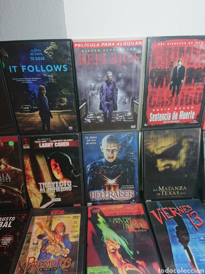 Cine: Lote N°1 de 38 Películas DVD de Terror (muchas de ellas descatalogadas) - Foto 7 - 166311717