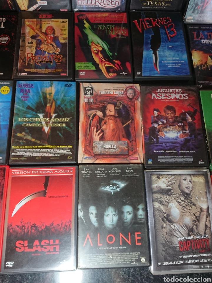 Cine: Lote N°1 de 38 Películas DVD de Terror (muchas de ellas descatalogadas) - Foto 8 - 166311717