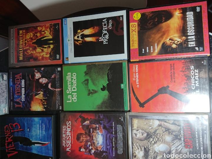 Cine: Lote N°1 de 38 Películas DVD de Terror (muchas de ellas descatalogadas) - Foto 9 - 166311717