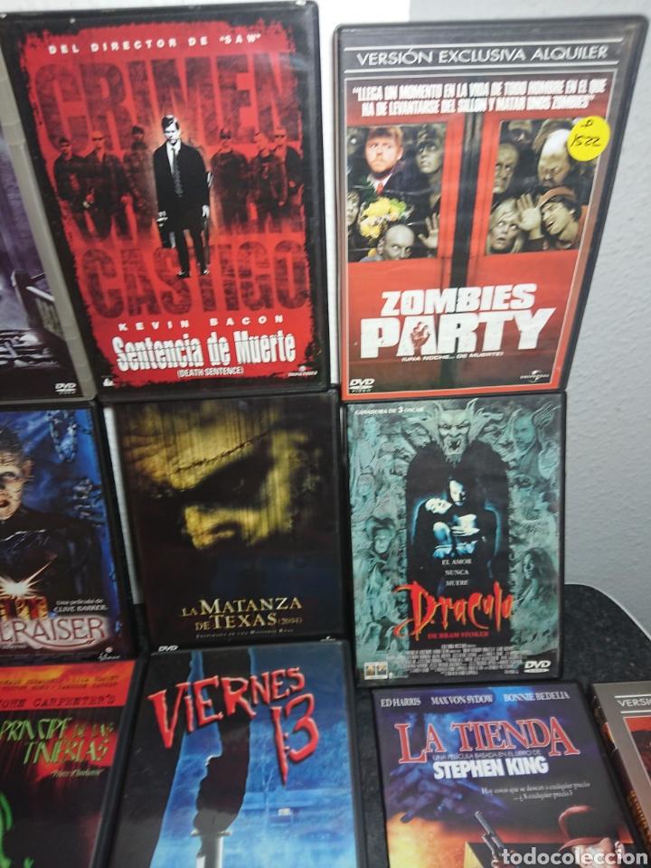 Cine: Lote N°1 de 38 Películas DVD de Terror (muchas de ellas descatalogadas) - Foto 10 - 166311717