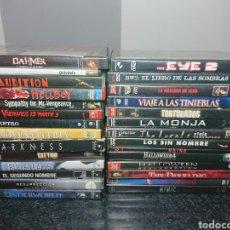 Cine: LOTE N°2 DE 28 PELÍCULAS DVD DE TERROR (MUCHAS DE ELLAS DESCATALOGADAS) / HALLOWEEN, VIERNES 13, ETC. Lote 166312282