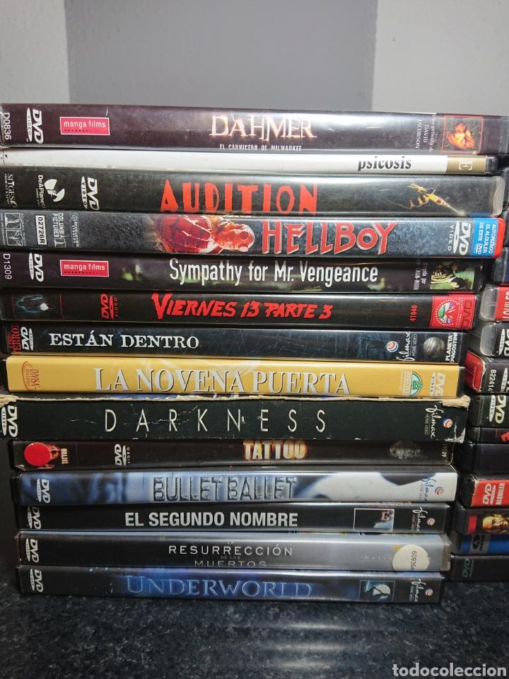Cine: Lote N°2 de 28 Películas DVD de Terror (Muchas de ellas descatalogadas) / Halloween, Viernes 13, etc - Foto 2 - 166312282