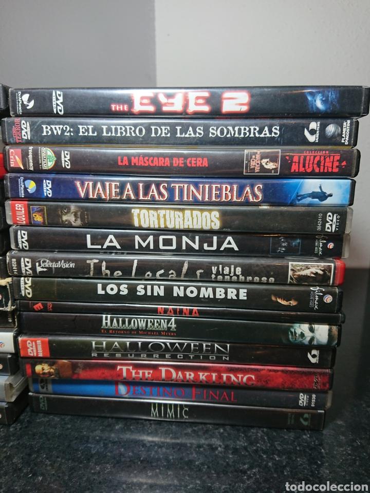 Cine: Lote N°2 de 28 Películas DVD de Terror (Muchas de ellas descatalogadas) / Halloween, Viernes 13, etc - Foto 3 - 166312282