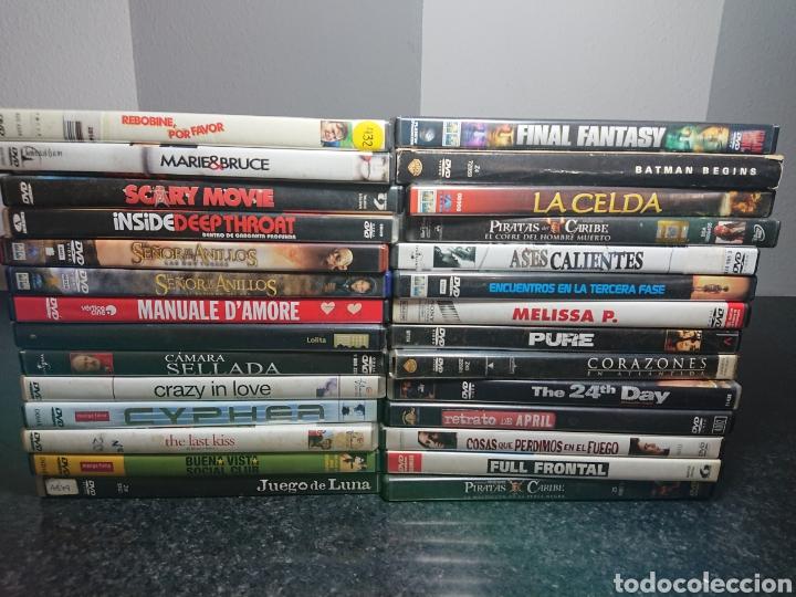 LOTE N°3 DE 28 PELÍCULAS DVD, CON ALGUNAS EDICIONES ESPECIALES (BUENAS PELÍCULAS) (Cine - Películas - DVD)