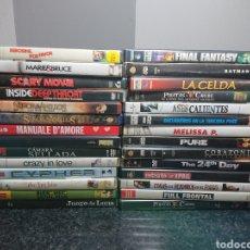 Cine: LOTE N°3 DE 28 PELÍCULAS DVD, CON ALGUNAS EDICIONES ESPECIALES (BUENAS PELÍCULAS). Lote 166312962