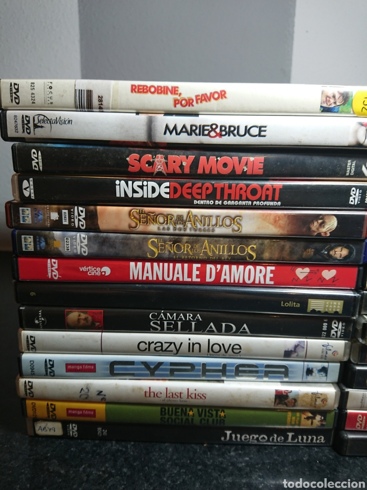 Cine: Lote N°3 de 28 Películas DVD, con algunas ediciones especiales (Buenas Películas) - Foto 2 - 166312962