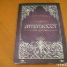 Cine: LA SAGA CREPUSCULO AMANECER / DVD 3 DISCOS CAJA METALICA. Lote 166320518