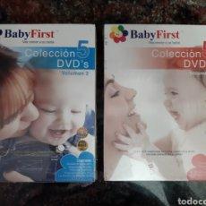 Cine: DVD. PACK BABY FIRST VOL.1 Y 2 (ART. NUEVO), VEA CRECER A SU BEBÉ. Lote 166323072