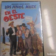Cine: LOS HERMANOS MARX EN EL OESTE DVD NUEVO PLASTIFICADO. Lote 166324638