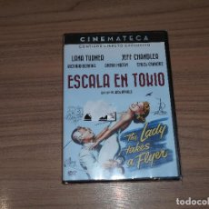 Cine: ESCALA EN TOKIO EDICION ESPECIAL DVD + LIBRO LANA TURNER JEFF CHANDLER NUEVA PRECINTADA. Lote 171966658