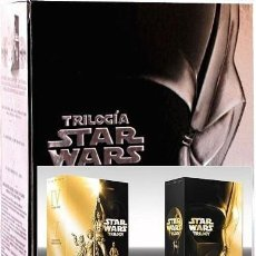 Cine: STAR WARS TRILOGÍA PACK IMPRESCINDIBLE DVD DE COLECCIONISTA 4 DISCOS. Lote 166395062