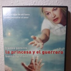 Cine: LA PRINCESA Y EL GUERRERO, DVD DESCATALOGADÍSIMO (TOM TYKWER, 2000). Lote 166462690