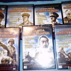 Cine: LA II GUERRA MUNDIAL 7 DVD. Lote 166468738