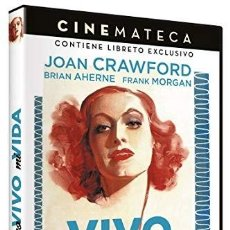 Cine: YO VIVO MI VIDA - CINEMATECA (JOAN CRAWFORD) - DVD NUEVO Y PRECINTADO. Lote 288606843