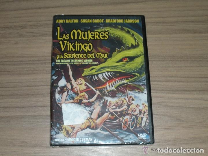 LAS MUJERES VIKINGO Y LA SERPIENTE DEL MAR DVD NUEVA PRECINTADA (Cine - Películas - DVD)