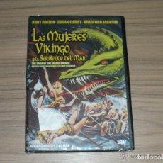 Cine: LAS MUJERES VIKINGO Y LA SERPIENTE DEL MAR DVD NUEVA PRECINTADA. Lote 213435027