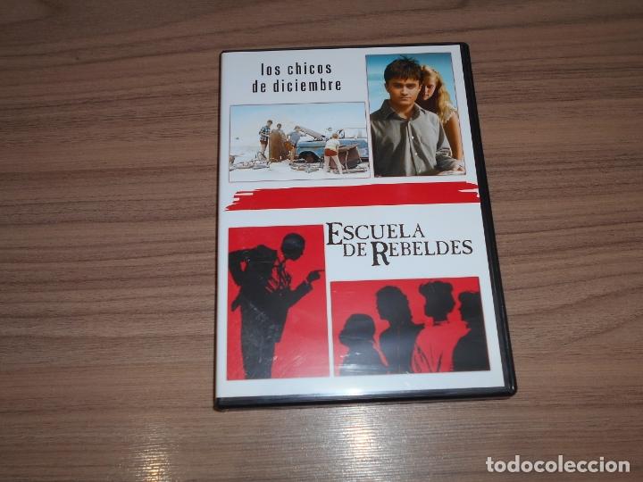 PACK ESCUELAS DE REBELDES + LOS CHICOS DE DICIEMBRE EDICION ESPECIAL 2 DVD WARNER COMO NUEVA (Cine - Películas - DVD)