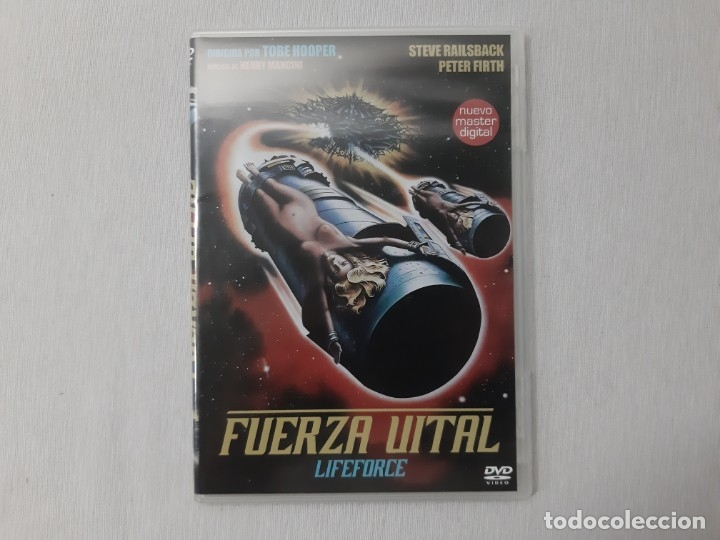 LIFEFORCE (FUERZA VITAL) ALL REGIONS - PAL (Cine - Películas - DVD)
