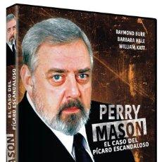 Cine: PERRY MASON EL CASO DEL PÍCARO ESCANDALOSO (NUEVO). Lote 289902393