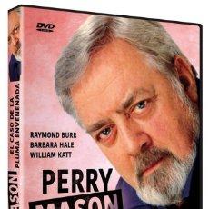 Cine: PERRY MASON: EL CASO DE LA PLUMA ENVENENADA (NUEVO). Lote 289902443