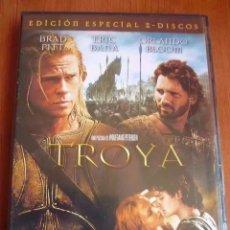 Cine: CINE DVD: TROYA - EDICION ESPECIAL 2 DISCOS *MUY BUEN ESTADO*. Lote 166584086