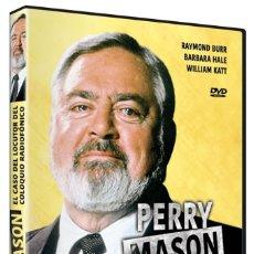 Cine: PERRY MASON: EL CASO DEL LOCUTOR DEL COLOQUIO RADIOFÓNICO (NUEVO). Lote 289902508