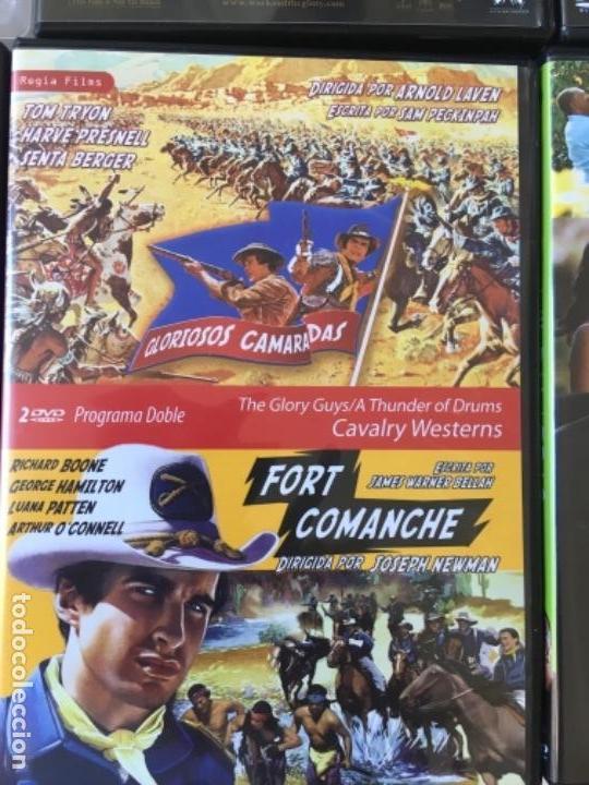 GLORIOSOS CAMARADAS/FORT COMANCHE (Cine - Películas - DVD)