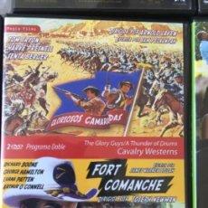 Cine: GLORIOSOS CAMARADAS/FORT COMANCHE. Lote 166662038