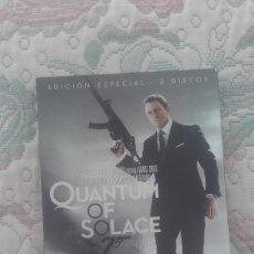 Cine: DVD QUANTUM OF SOLACE, DE MARK FOSTER, CON DANIEL CRAIG (JAMES BOND)(EDICION DE 2 DISCOS). Lote 166663778