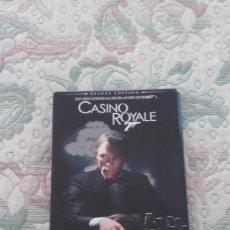 Cine: DVD CASINO ROYALE, DE MARTIN CAMPBELL, CON DANIEL CRAIG (JAMES BOND)(DELUXE EDITION 3 DISCOS). Lote 166663890