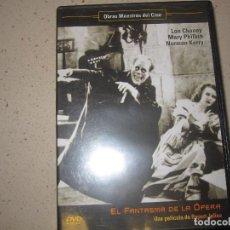 Cine: EL FANTASMA DE LA OPERA DVD . Lote 166722618