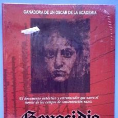 Cinéma: TODODVD: PRECINTADO. GENOCIDIO - SCHARTZMAN. ELISABETH TAYLOR / ORSON WELLS / SIMON WIESENTHAL. Lote 166729178
