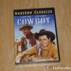 Cine: COWBOY DVD GLENN FORD JACK LEMMON NUEVA PRECINTADA. Lote 166771408