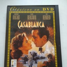 Cine: DVD CASABLANCA. Lote 166847557