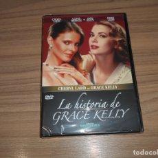 Cine: LA HISTORIA DE GRACE KELLY DVD 100 MIN. NUEVA PRECINTADA. Lote 186213013