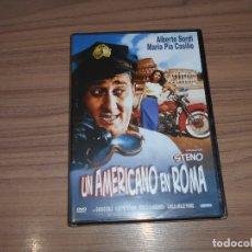 Cine: UN AMERICANO EN ROMA DVD ALBERTO SORDI NUEVA PRECINTADA. Lote 186269432
