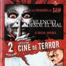 Cine: SILENCIO DESDE EL MAL & LA SEMILLA DE CHUCKY ( 2 DISCOS). Lote 166925924