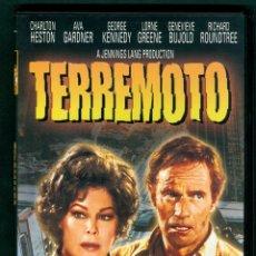 Cine: DVD TERREMOTO CHARLON HESTON AVA GARDNER GEORGE KENNEDY RICHARD ROUNDTREE. Lote 167003516