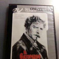Cinéma: DVD EL GATOPARDO BURT LANCASTER CLAUDIA CARDINALE ALAIN DELON LUCHINO VISCONTI. Lote 167037736