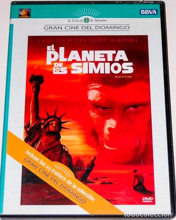 EL PLANETA DE LOS SIMIOS INCLUYE LOS 25 TRAILERS DE LA COLECCION (Cine - Películas - DVD)